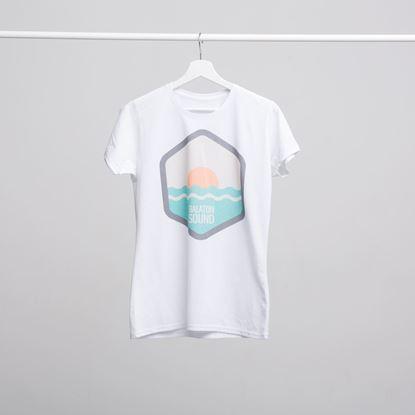 Picture of BALATON SOUND // Men Sunset t-shirt