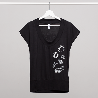 Picture of SZIGET // Lady #SZIGET  t-shirt