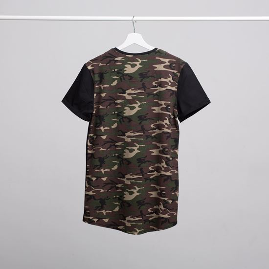 Picture of SZIGET // Men camouflage t-shirt