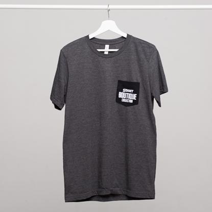 Picture of SZIGET // Men Batique pocket t-shirt