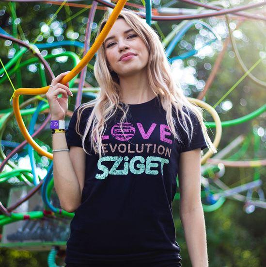 SZIGET // Női Színes Póló termékhez kapcsolódó kép