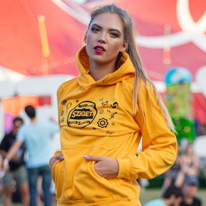 Picture of SZIGET // Lady pull-on Hoodie