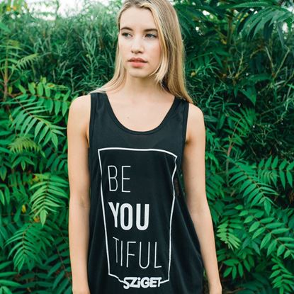 Picture of SZIGET // Lady Be-you-tiful tanktop